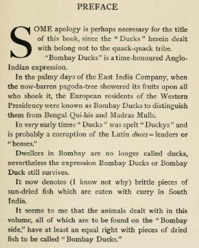 bombay duck origin